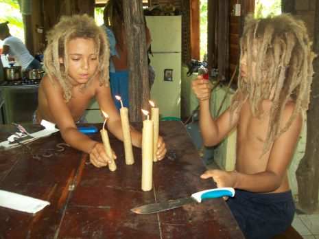 Having just made rolled foundation candles