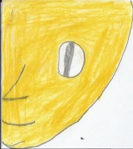 Part of Jathniel's sun's face