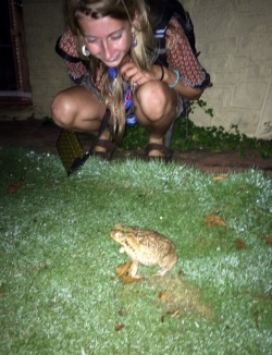 Bull frog!