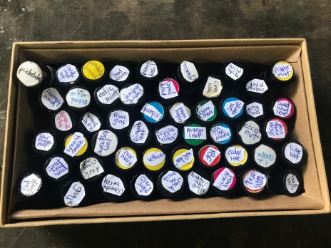 Ur little sample smelling box with most of our oils